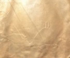Bronze Shimmer Leather